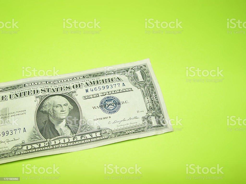 American Dollar royalty-free stock photo