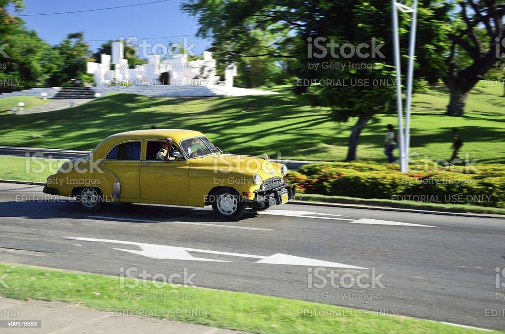 American Dream Car in Cuba stock photo