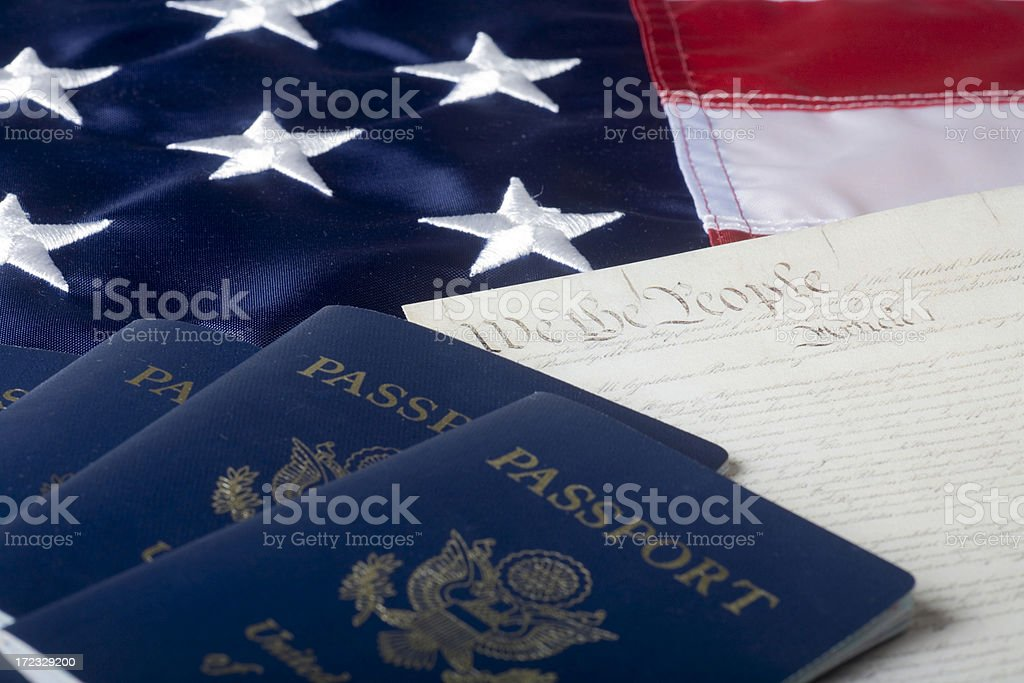 American dream concept royalty-free stock photo