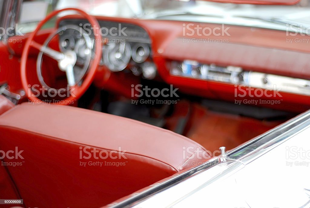 American dream fifties car 1 royalty-free stock photo