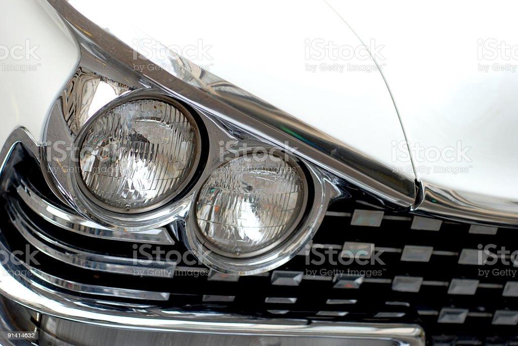 American dream fifties car 3 royalty-free stock photo