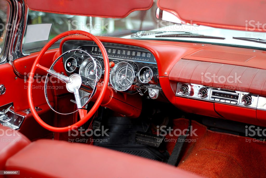 American dream fifties car 6 royalty-free stock photo