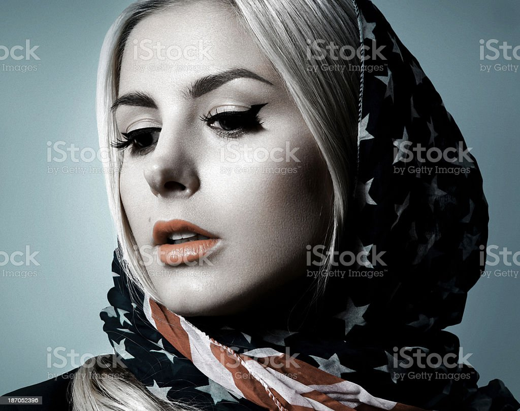 American Dream stock photo