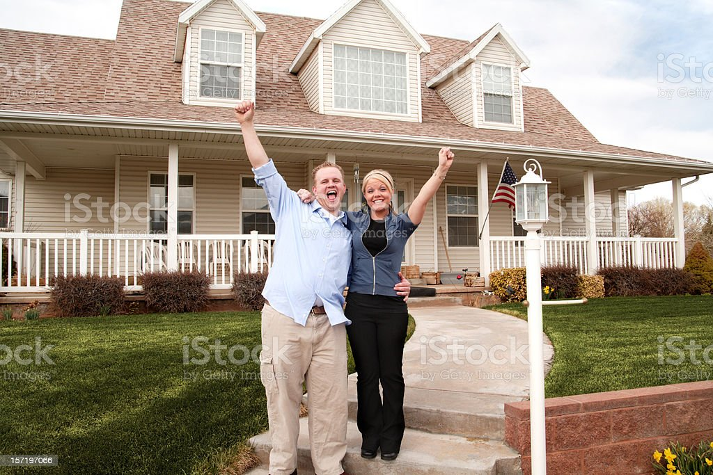 American Dream Realized royalty-free stock photo