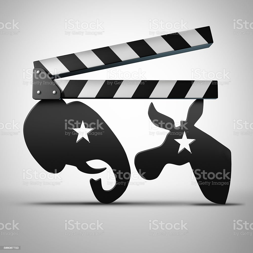 American Election Media stock photo