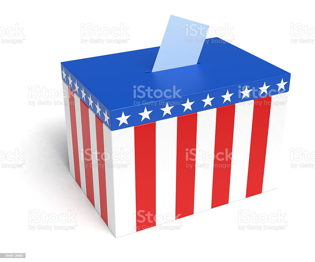 American Election royalty-free stock photo