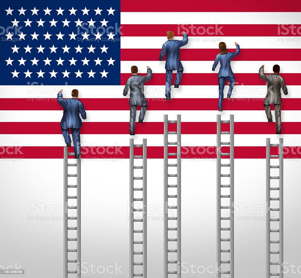 American Election stock photo