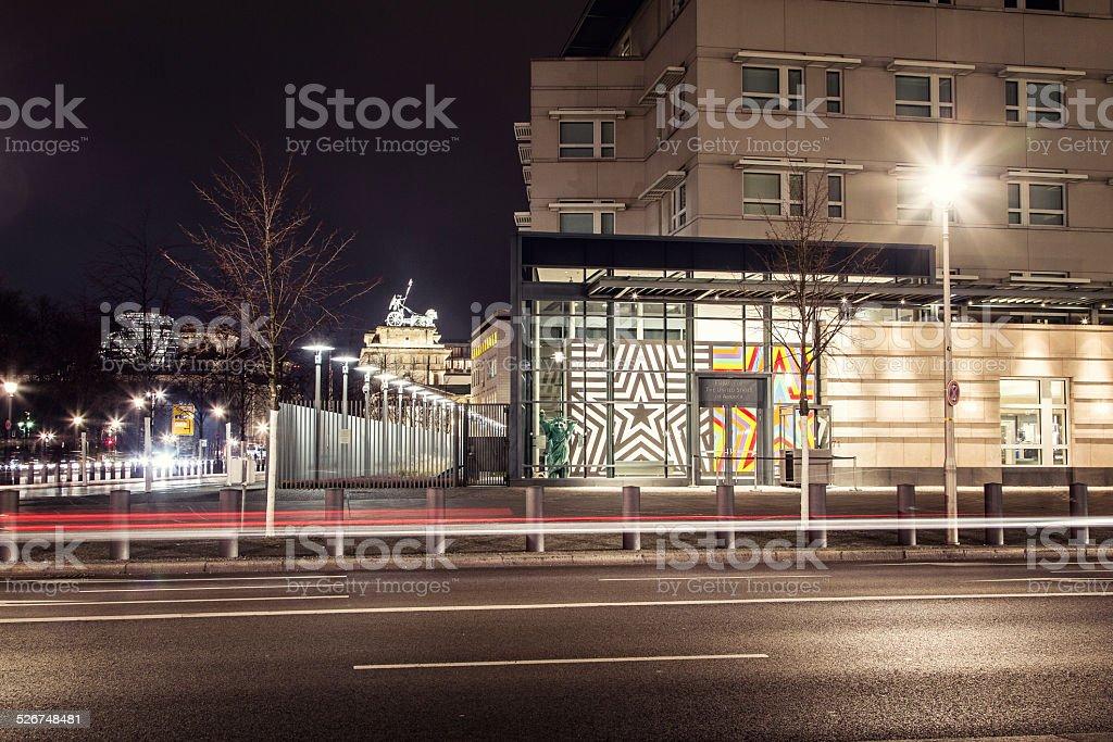 American Embassy in Berlin stock photo