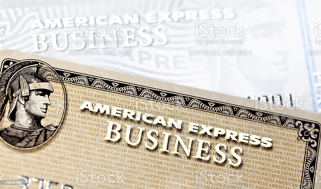 American Express Credit Cards royalty-free stock photo