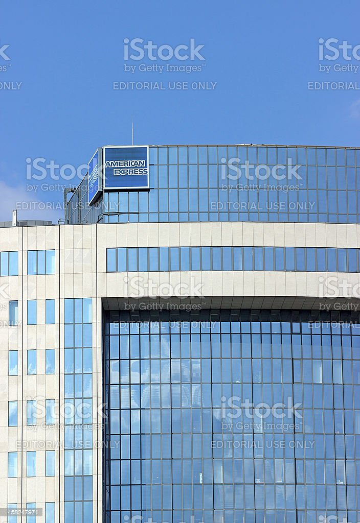 American Express Office Building stock photo