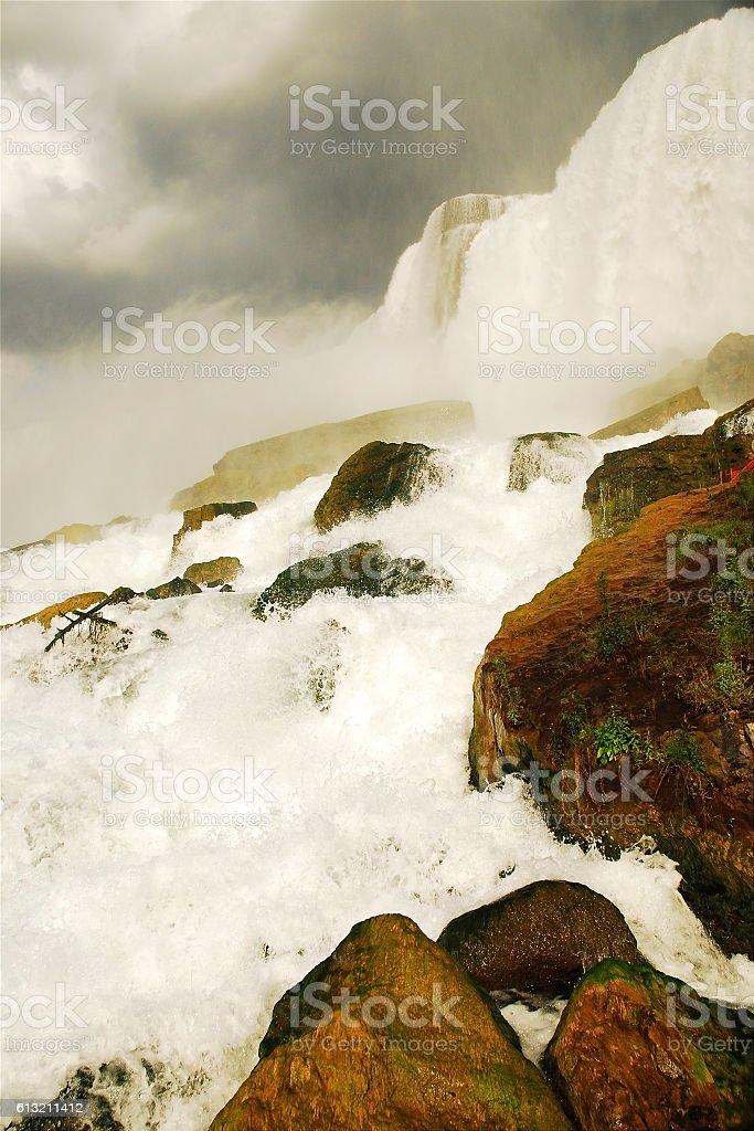 American Falls, Niagara stock photo