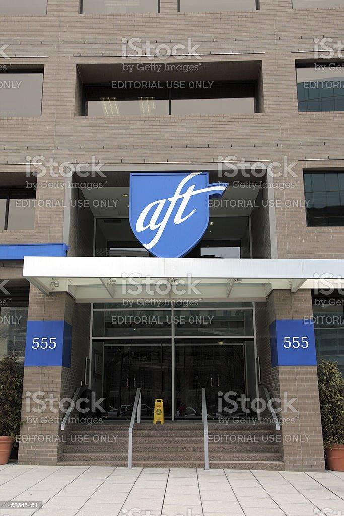 American Federation Of Teachers Building stock photo