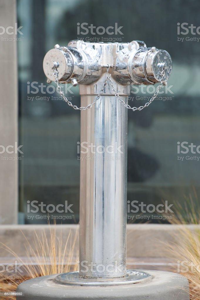 American fire hydrant / post stock photo