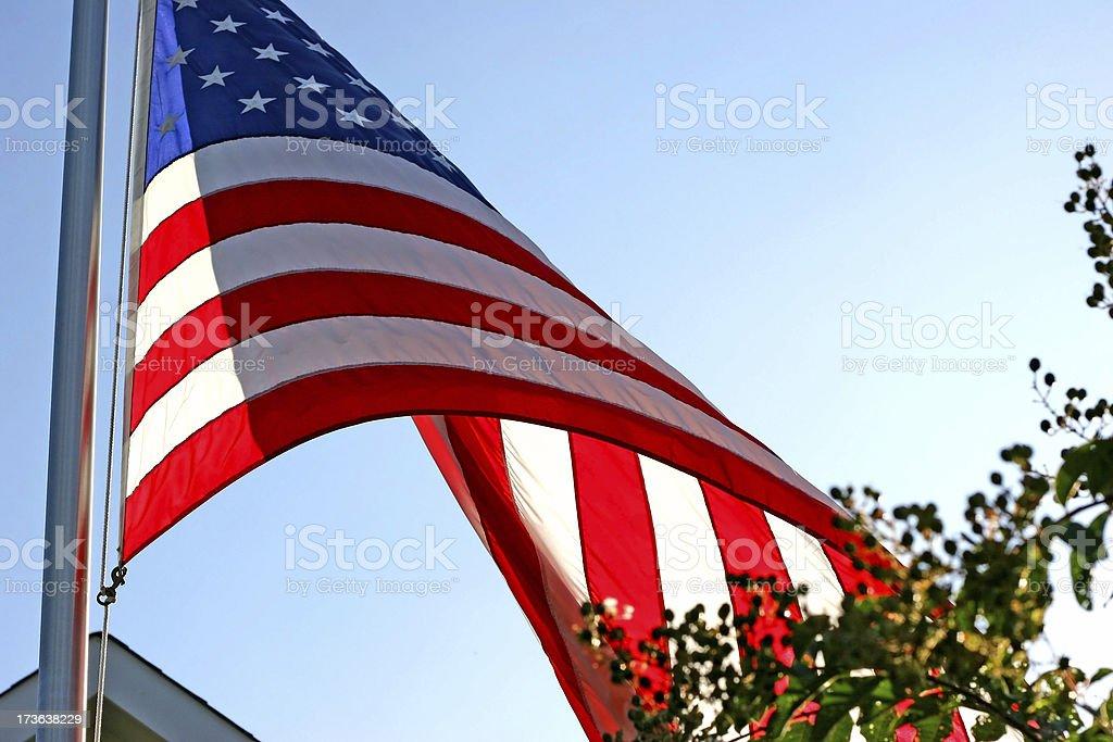 American Flag 2 royalty-free stock photo