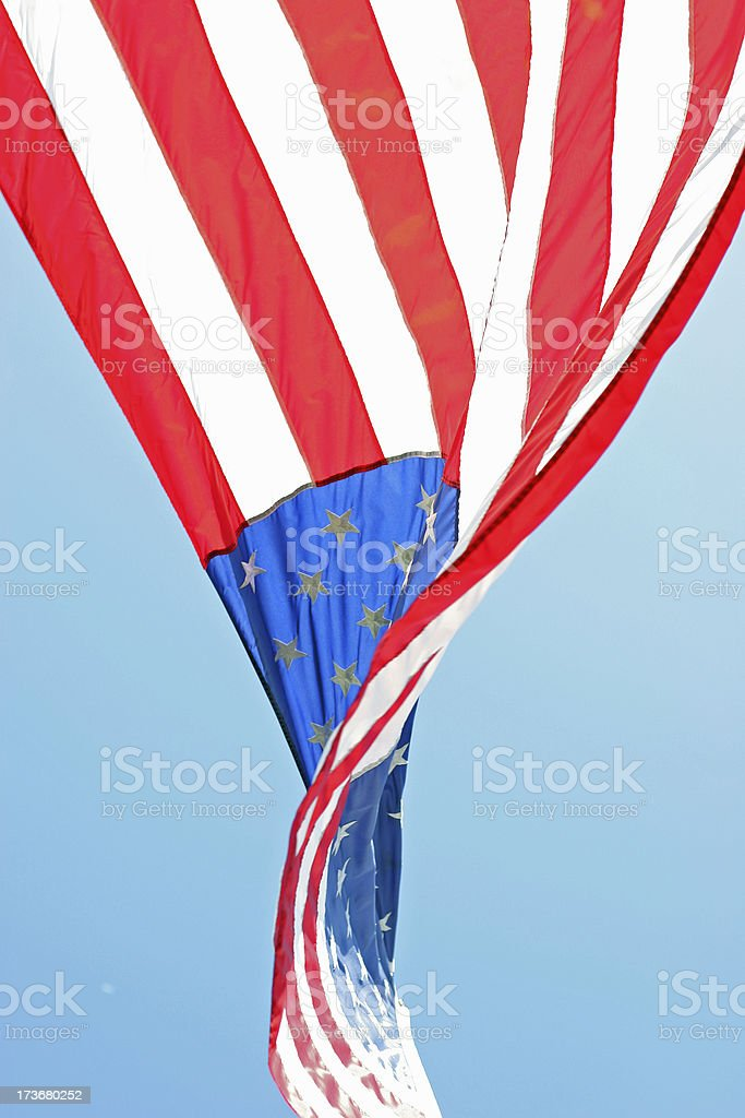 American Flag 8 royalty-free stock photo