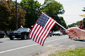 American Flag at Memorial Day Parade