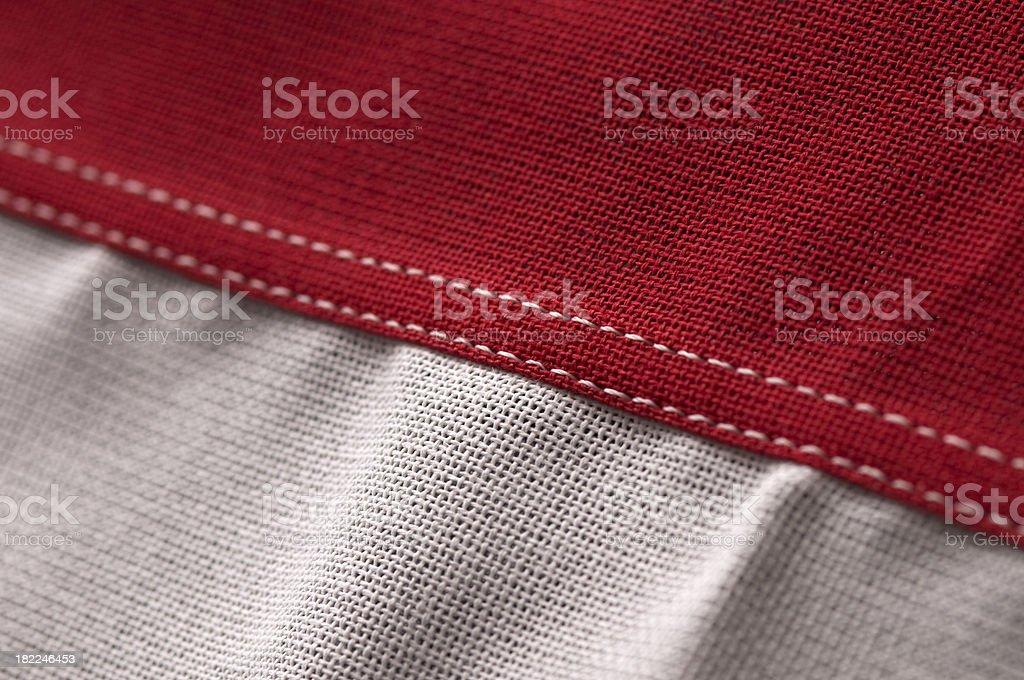 American Flag Detail stock photo
