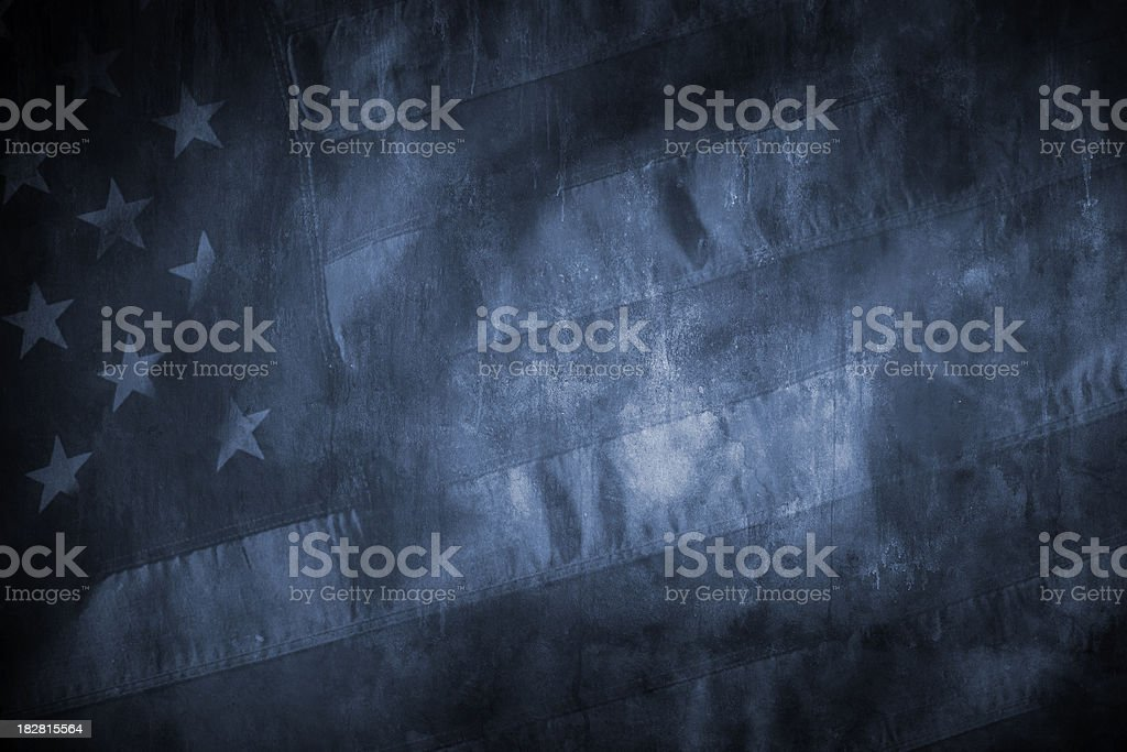 American Flag Grunge stock photo