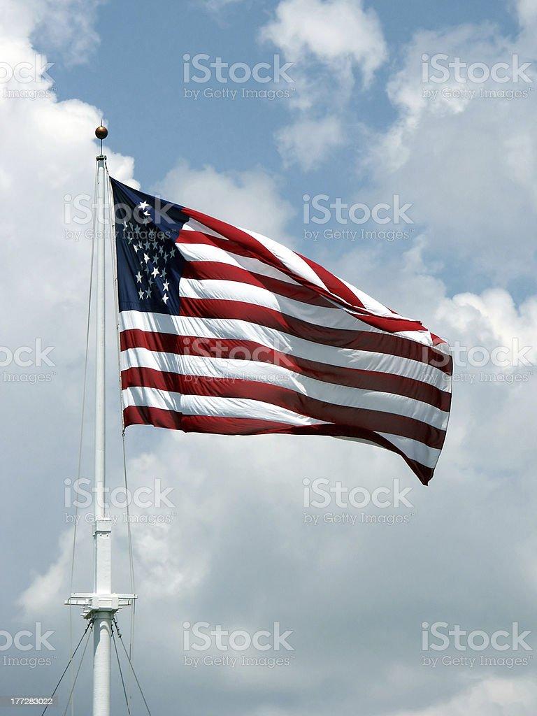 American Flag stock photo