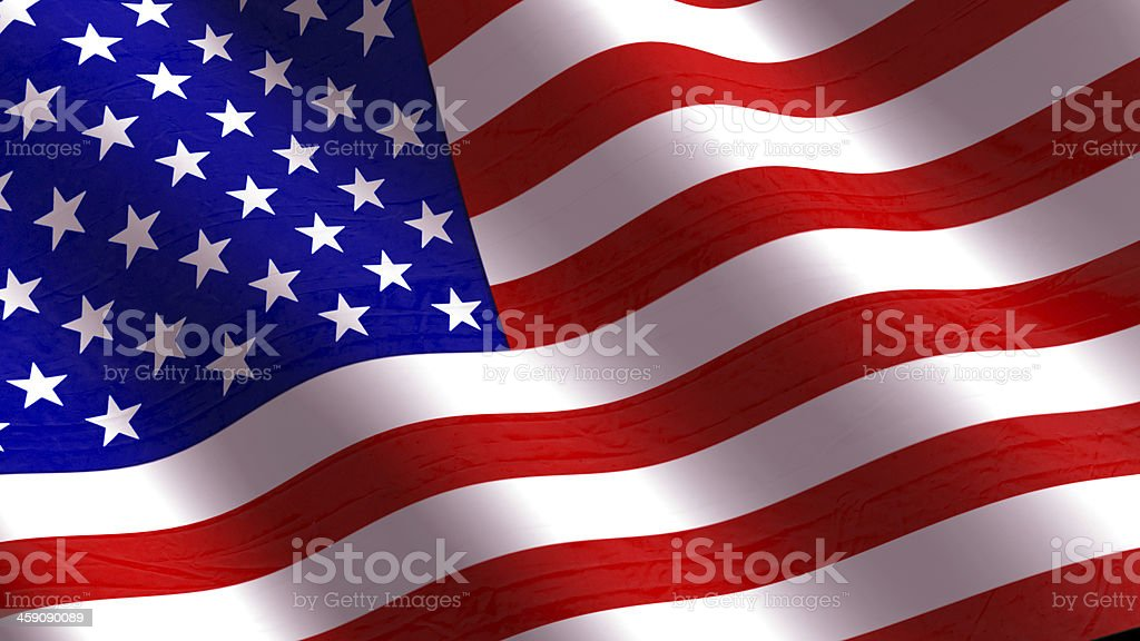American Flag. stock photo
