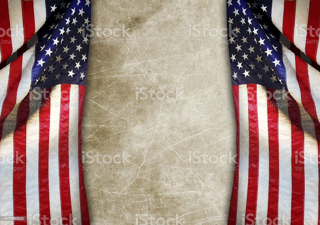 american flag royalty-free stock photo