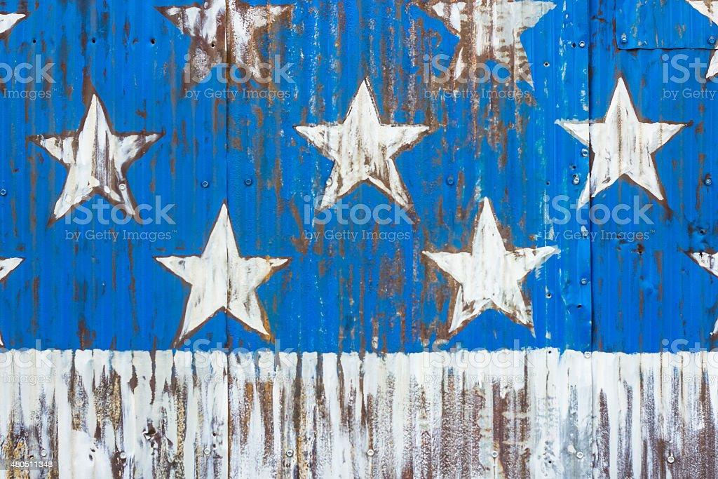 American Flag Stars stock photo