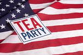 American Flag -  Tea Party