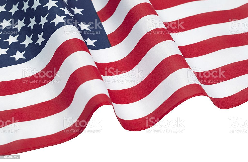 American Flag – United States Of America royalty-free stock photo