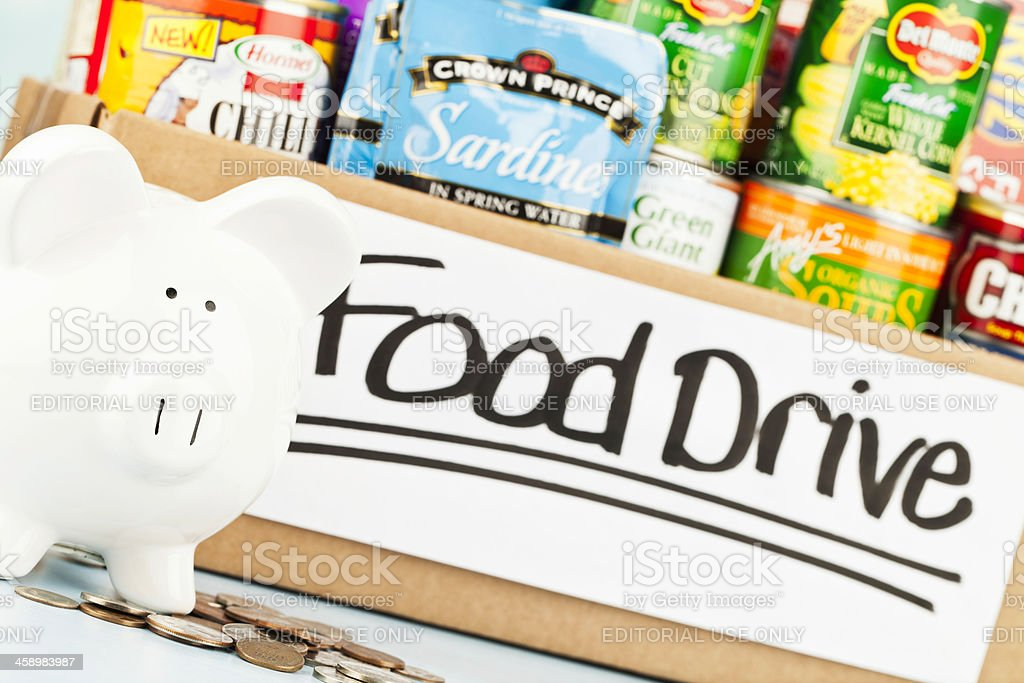American Food Drive Collection royalty-free stock photo