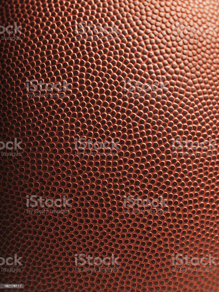 American football close up royalty-free stock photo
