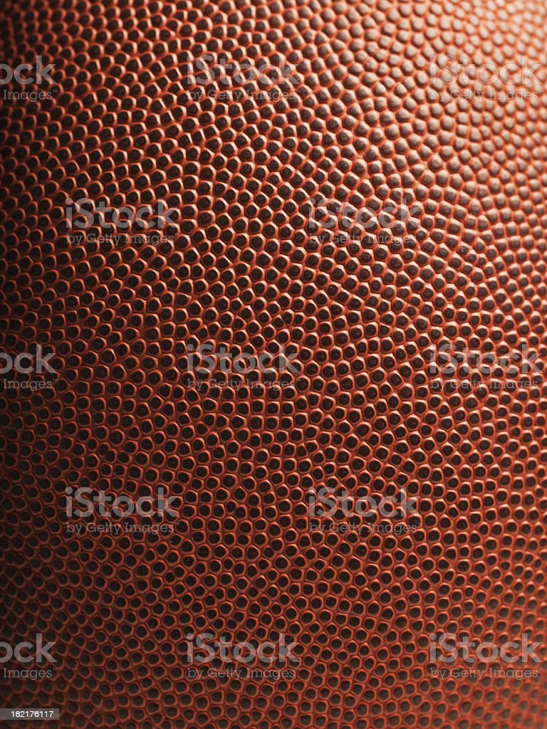 American football close up stock photo