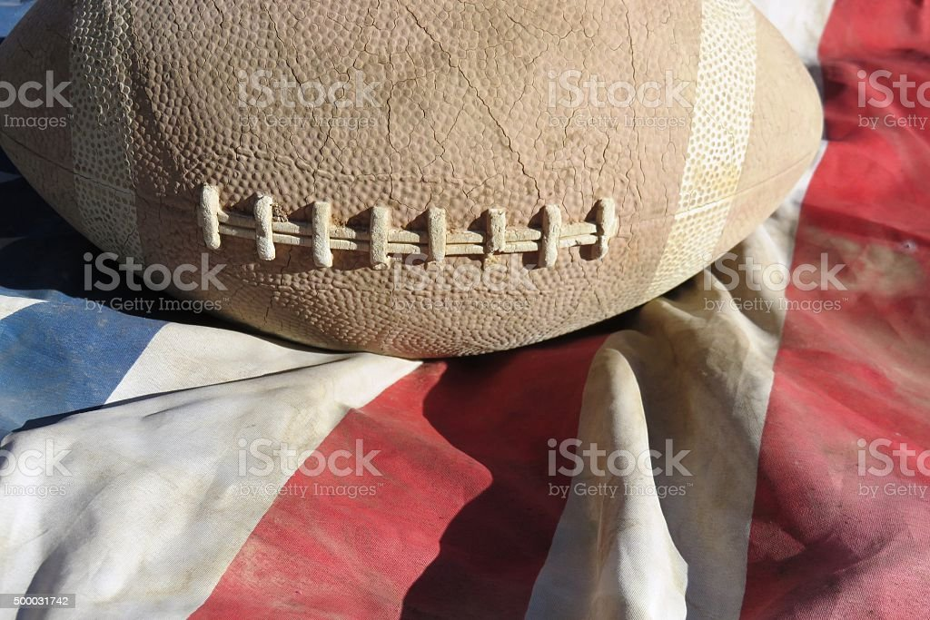 American Football Concept stock photo