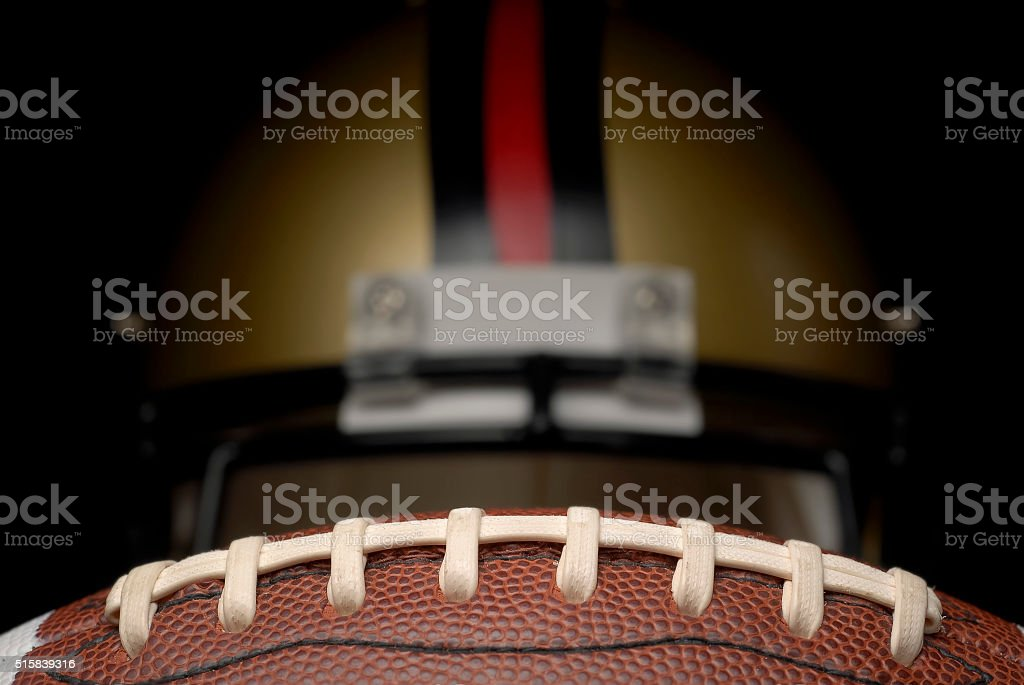 American Football Game Day stock photo