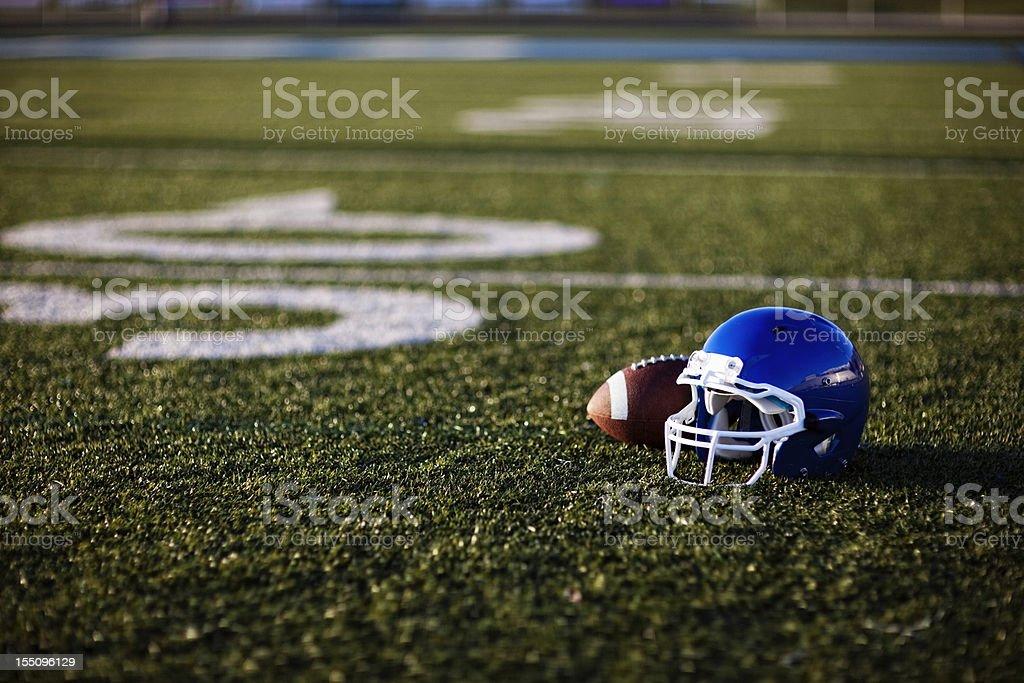 American Football Helmet stock photo