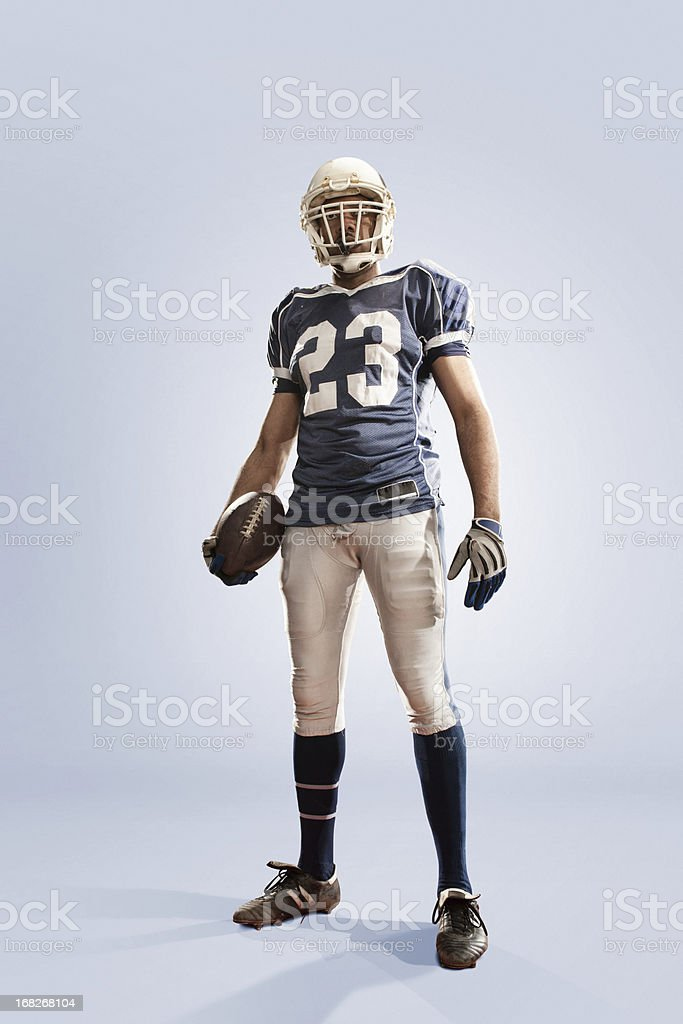 American Football Hero stock photo