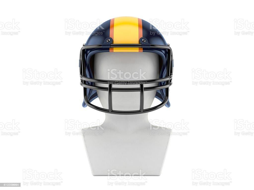 American football icon stock photo