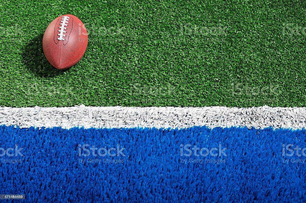 "American Football in the ""Red Zone"" royalty-free stock photo"