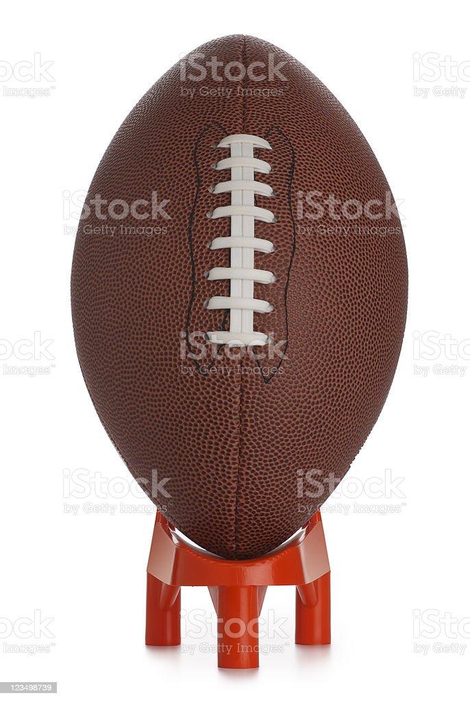 American Football Kickoff royalty-free stock photo