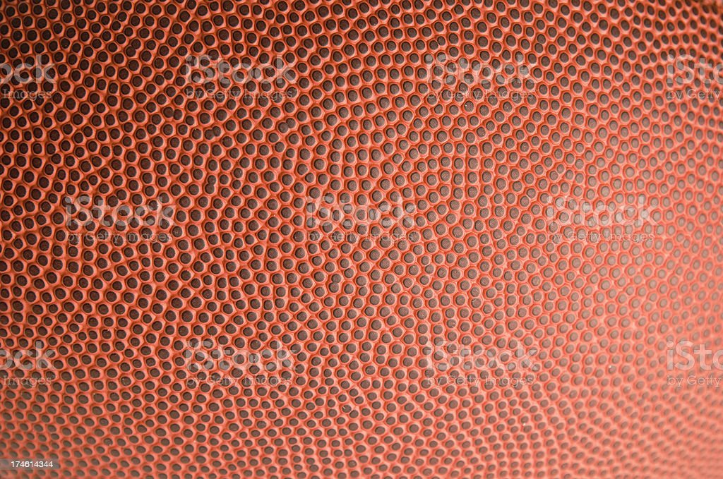 American Football Leather Texture stock photo