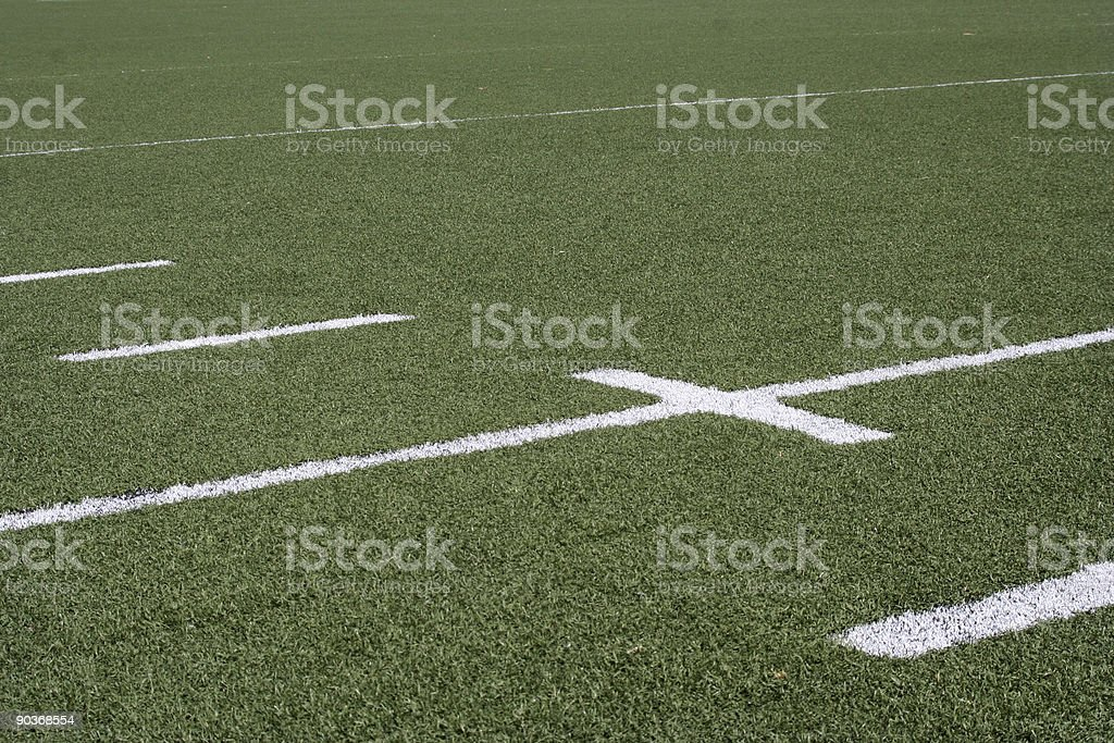American Football Line Markers stock photo