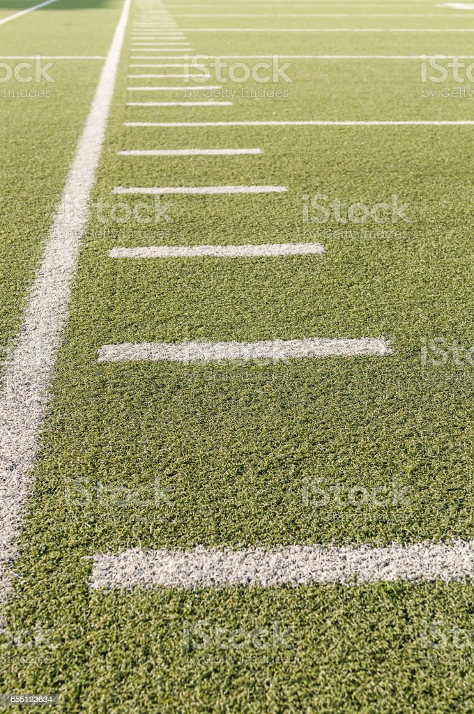 American football marks stock photo