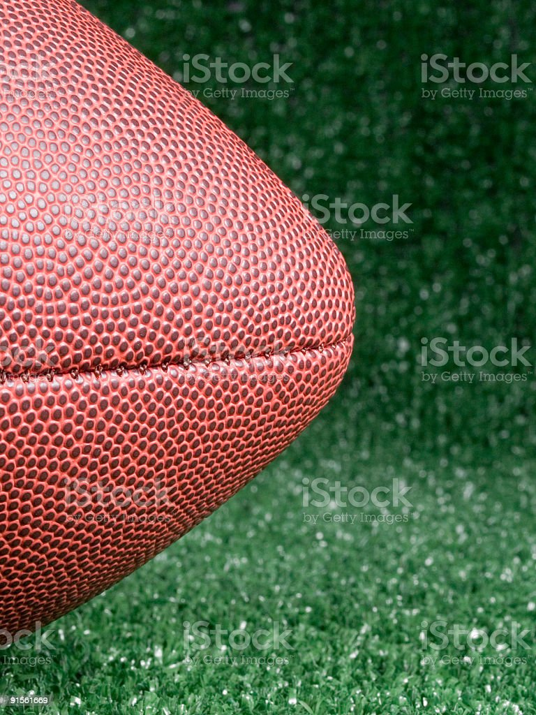 American Football Nose royalty-free stock photo