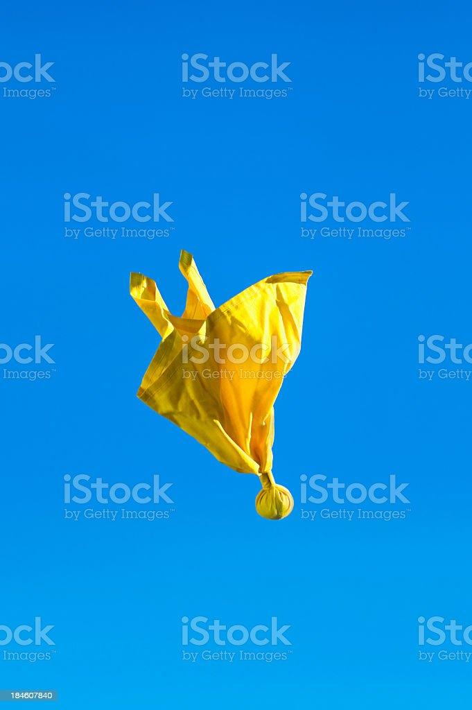 American football - Penalty Flag stock photo