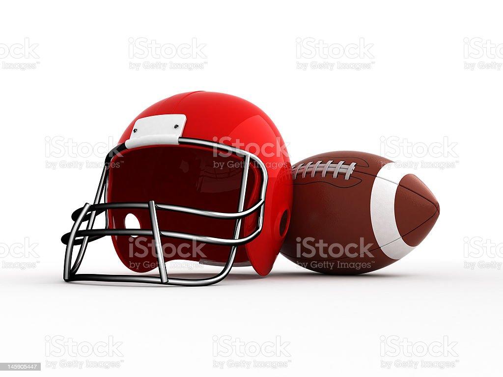 American football. royalty-free stock photo