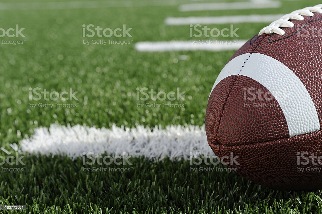 American Football stock photo