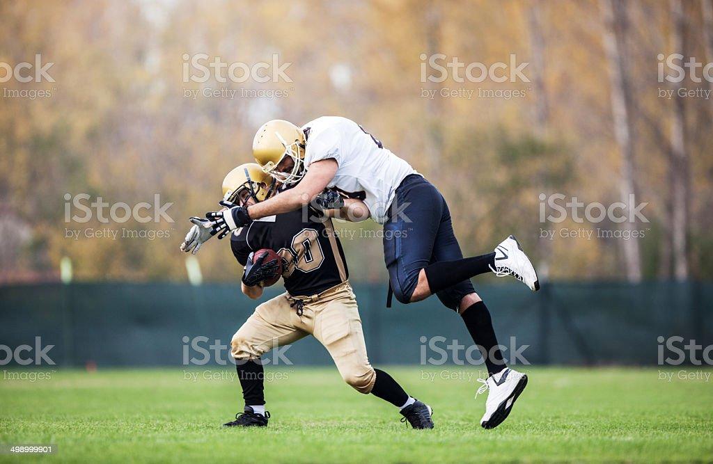 American football. stock photo