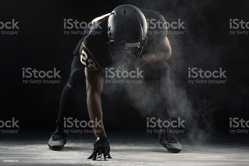 American Football stock photo