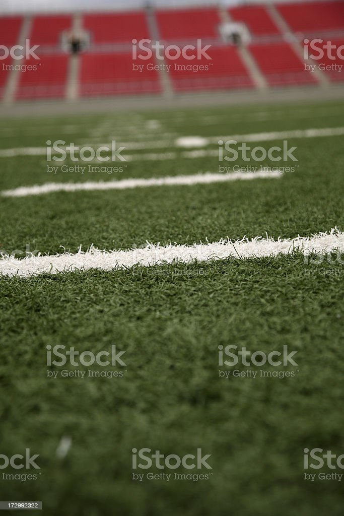 American Football Stadium royalty-free stock photo