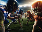 American football teams head to head