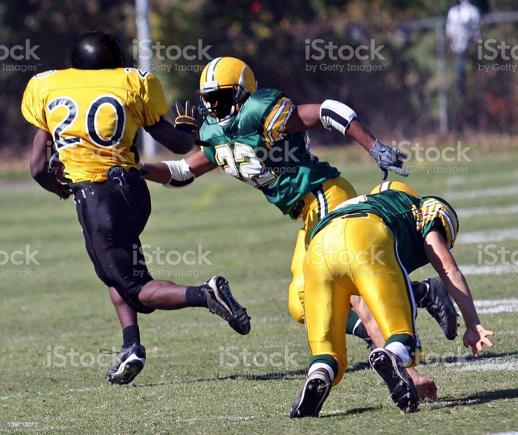 American Football- Touchdown2 stock photo